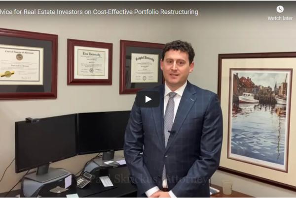 Video Screenshot of Advice for Real Estate Investors
