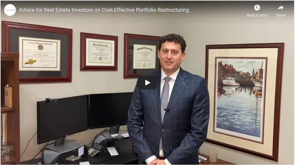 Advice for Real Estate Investors on Cost-Effective Portfolio Restructuring